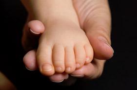 Baby's foot